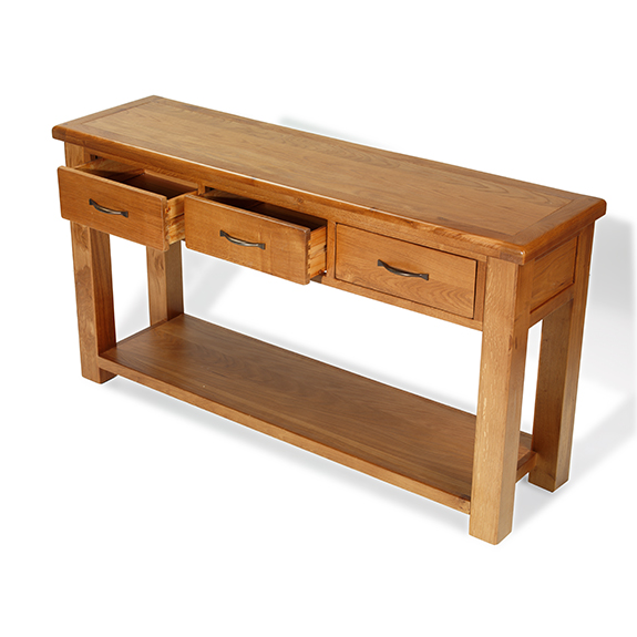 Dalby Oak Large Console Table